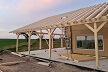 Casa construída no sistema construtivo Norges Hus em Coruche